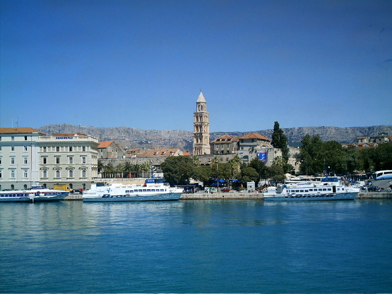 Hafen von Split