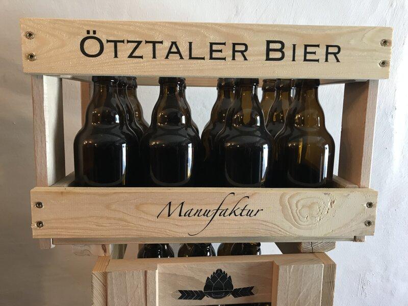 Bierflaschen Ötztaler Bier