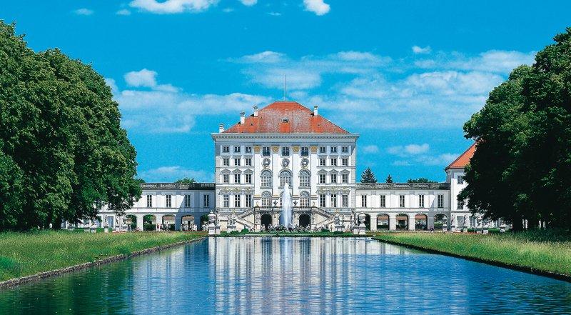 Mittelkanal und Schloss Nymphenburg