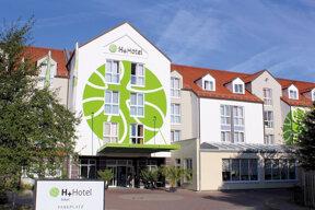 Hotel H+ Erfurt von außen