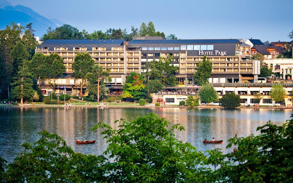 Hotel Park Bled Außenansicht