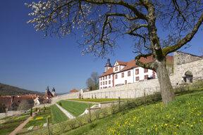 Schmalkalden Schloss Wilhelmsburg Schlossgarten