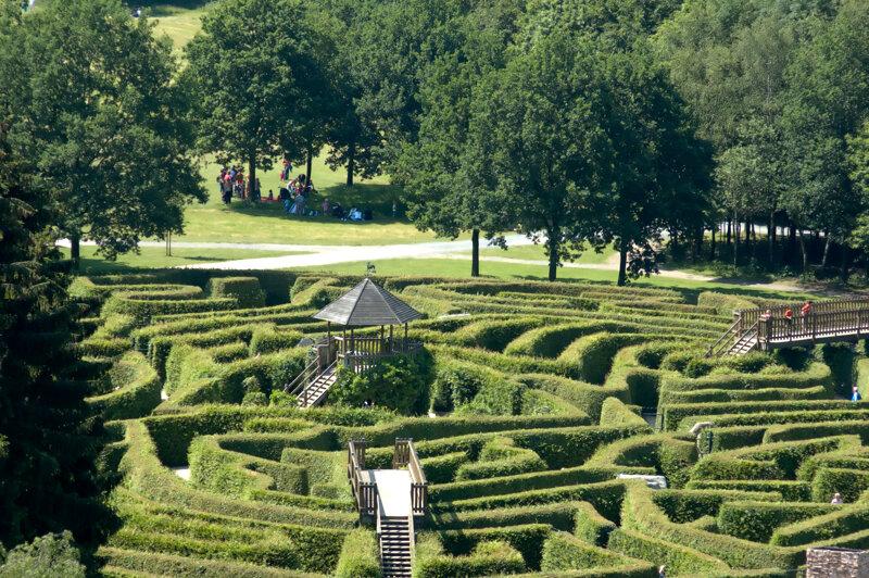 Labyrinth Dreiländerpunkt