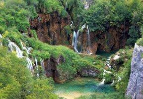 Wasserfall Plitvic Oaze ohne c pixabay