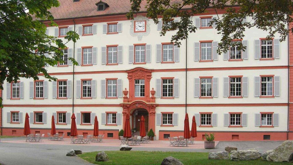 Rheinfelden Schlosshotel Beuggen Aussenaufnahme Haupthaus