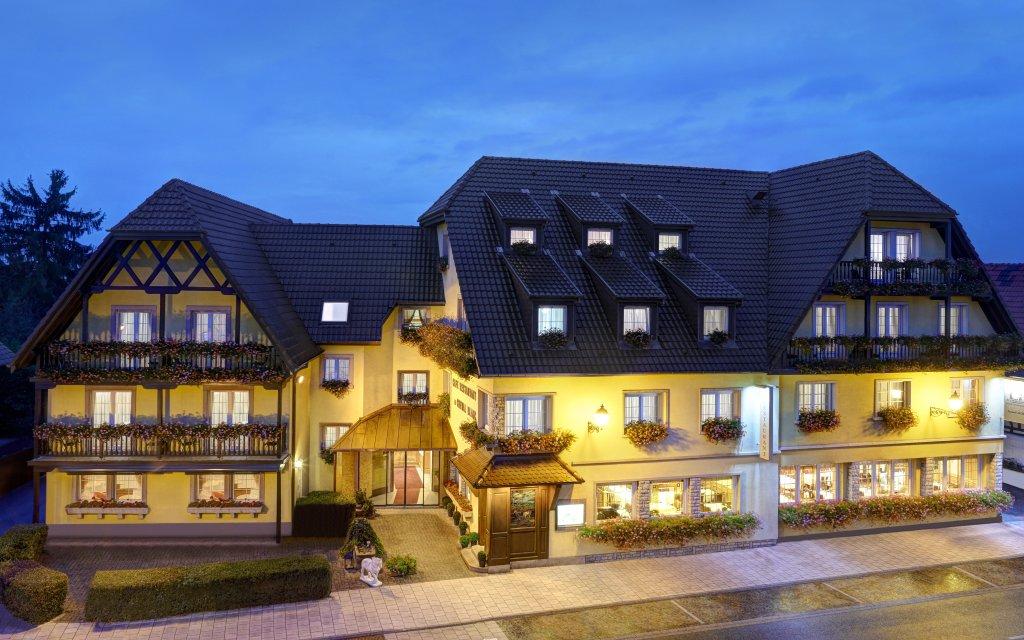 Best Western Hôtel Au Cheval Blanc Baldersheim Außenansicht