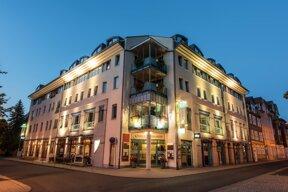 Außenansicht Goebelss Sophien Hotel