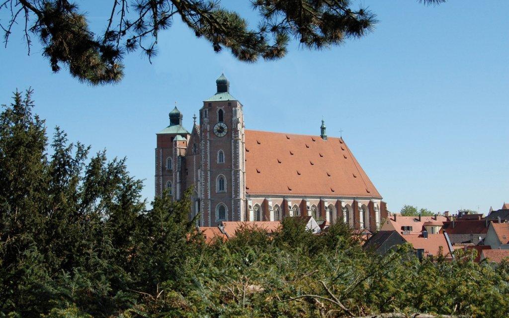 Münster in Ingolstadt aus der Ferne