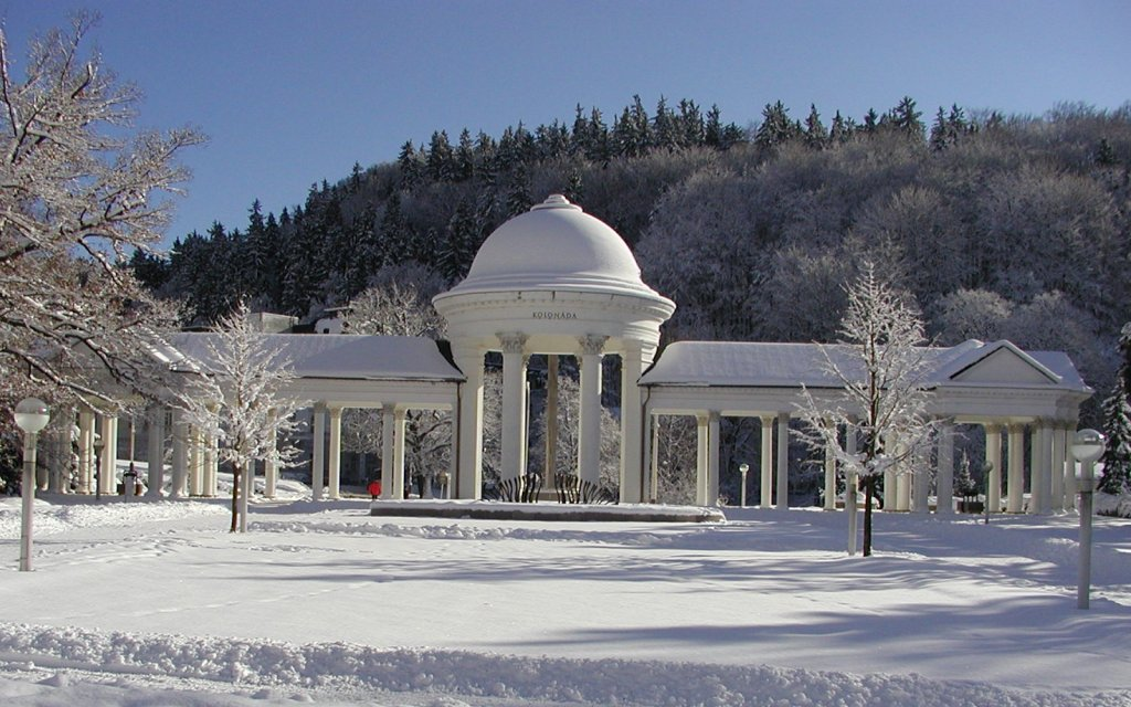 Marienbad i Winter