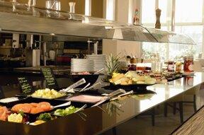 A Hotel Fruehstuecksbuffet