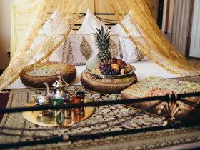 orientalische teepause