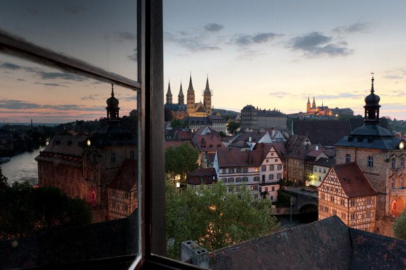 Bamberger Bergstadt am Abend