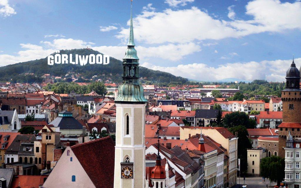 Blick auf die Görlitzer Altstadt
