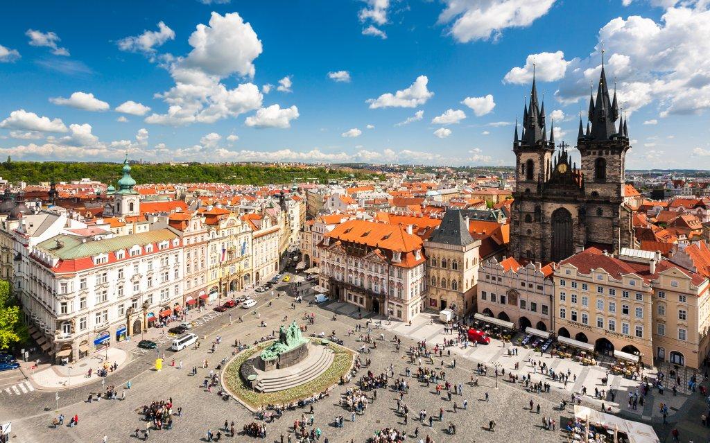 Alter Marktplatz in Prag