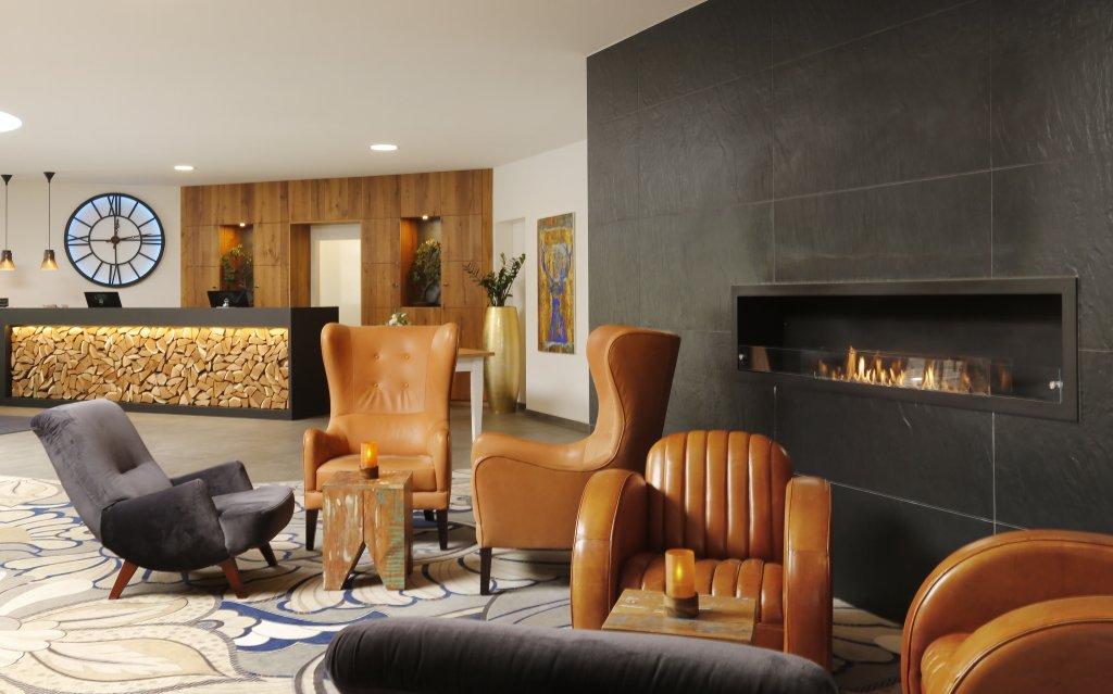 Bad Griesbach Hotel 4 Moods Suites & Spa Lounge Rezeption