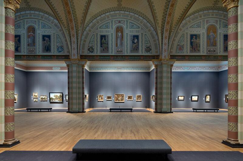 Galerie im Rijksmuseum Amsterdam