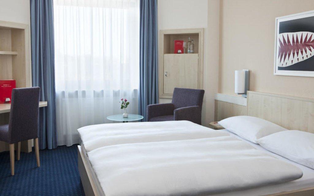 InterCityHotel Ulm Zimmer Doppelzimmer