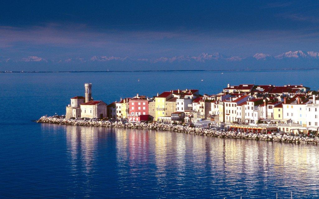 Hafen Piran Punta