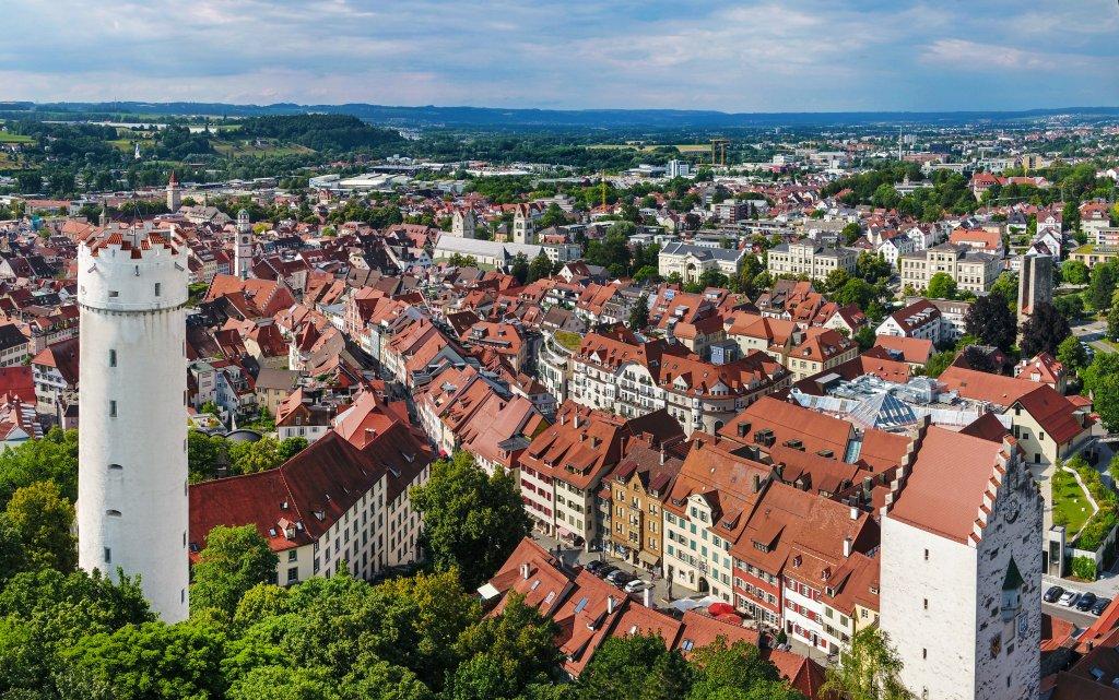 Ravensburg von oben
