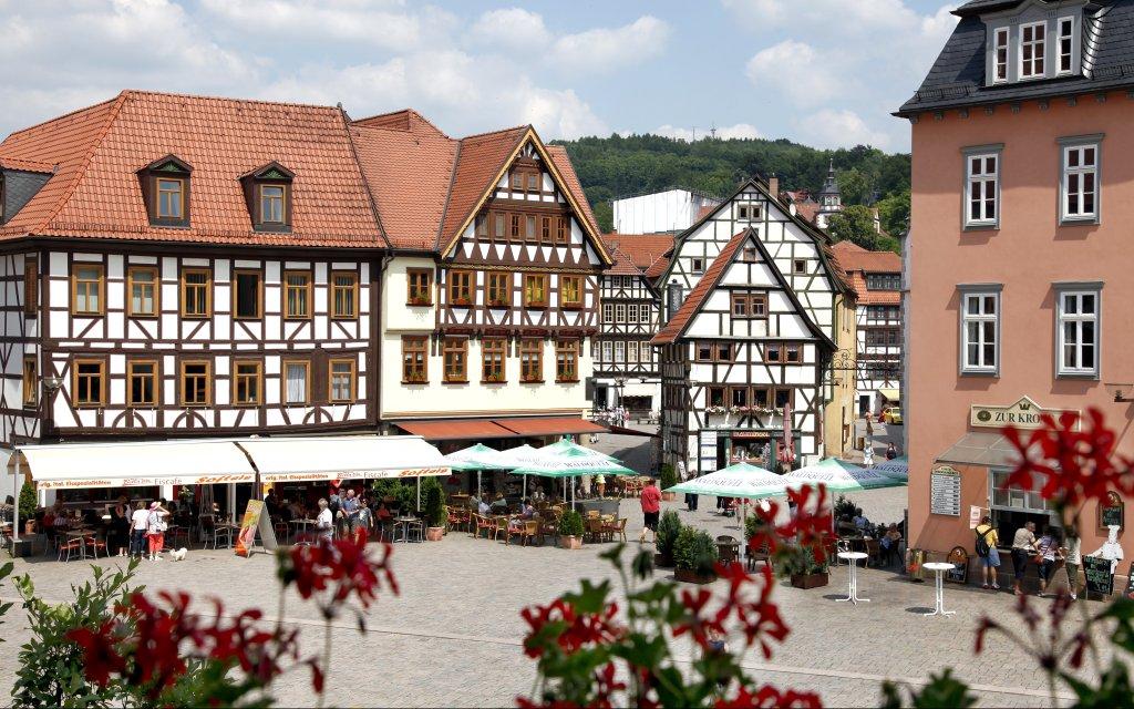 Altstadt Fachwerkhäuser in Schmalkalden