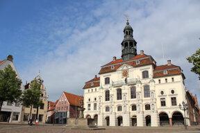 Das Rathaus von Lüneburg, eines der schönsten im Norden