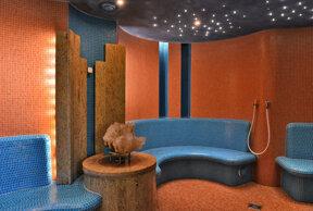 Saunagarten Dampfbad c Hotel