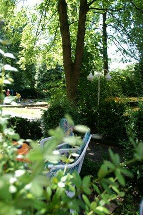 Garten minigolf