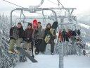 Böhmerwälder Schnee und Wellness satt