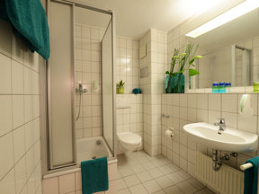Hotel Residenz Oberhausen Badezimmer 1600x1200
