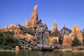 Big Thunder Mountain (Frontierland) c ©Disney