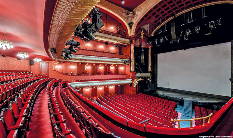 Stage Theater des Westens - Saal