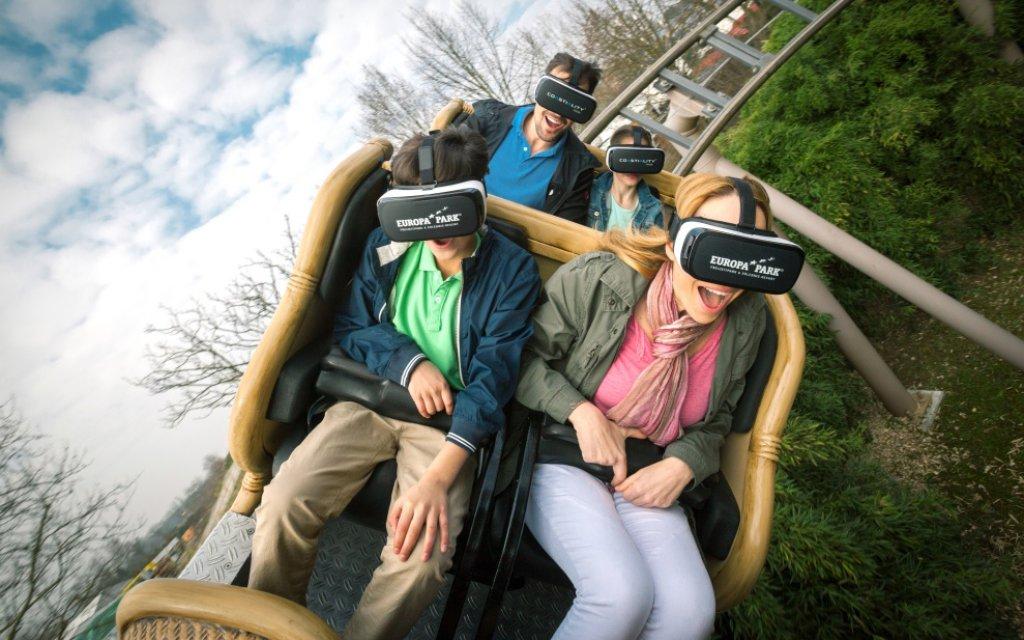 VR Ride Pegasus Coastiality im Europa-Park Rust