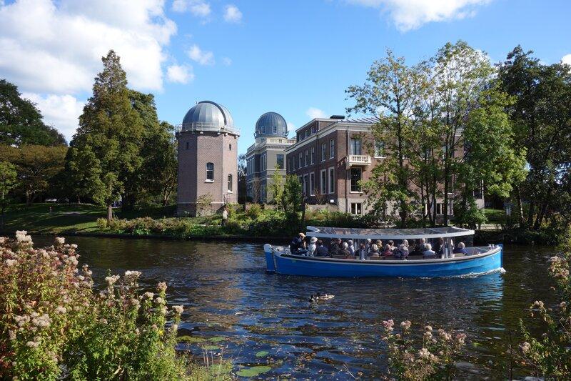 """Bootstour mit der Reederei """"Bootjes en Broodjes"""" durch Leiden"""