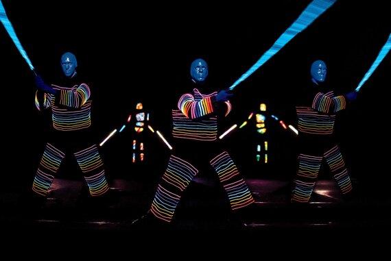 Trio Laserschwerter © Stage Entertainment