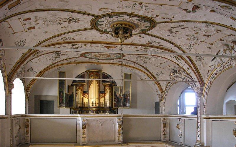 Innenansicht Schloss Wilhelmsburg