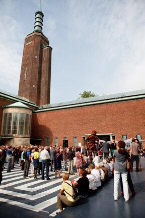 Eingang Boijmans Van Beuningen Museum