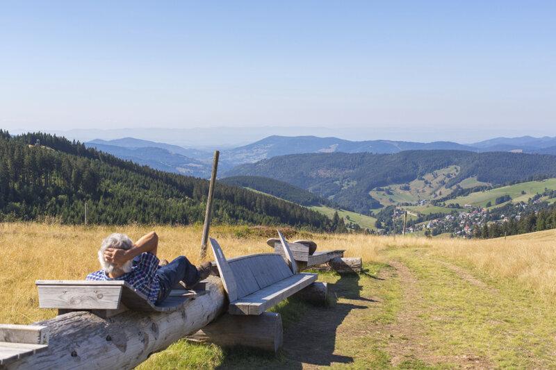 Längste Bank der Welt.©Hochschwarzwald Tourismus GmbH