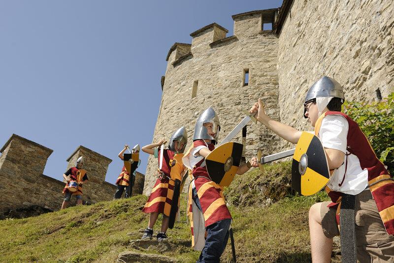 Kinder c Salzburger Burgen & Schlösser