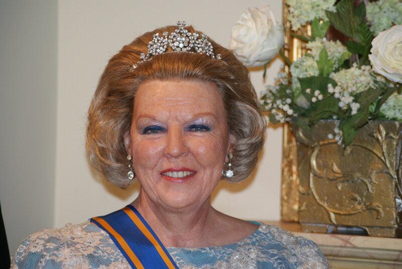 Prinzessin Beatrix in Madame Tussauds Amsterdam