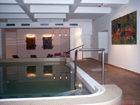 Wellness Hotel Central-Hallenbad