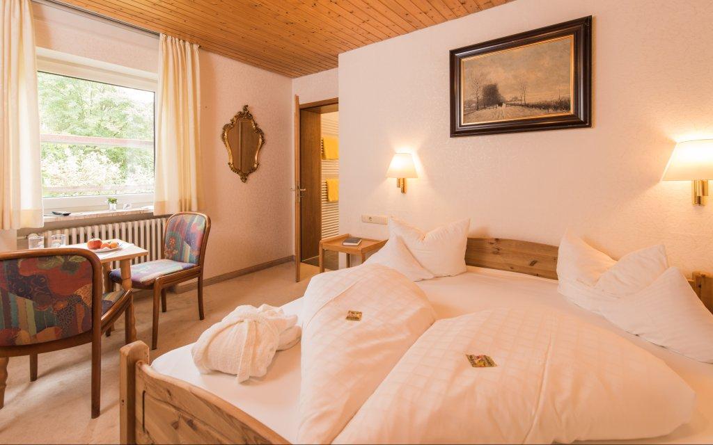 Bad Hindelang Alpenhotel Sonneck Zimmer Doppelzimmer