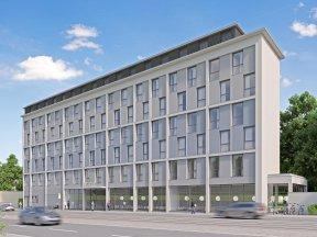Das Super8 Hotel Dresden in Dresden-Neustadt.