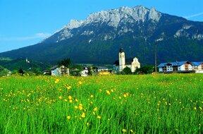 Ortsansicht Ebbs c Ferienland Kufstein