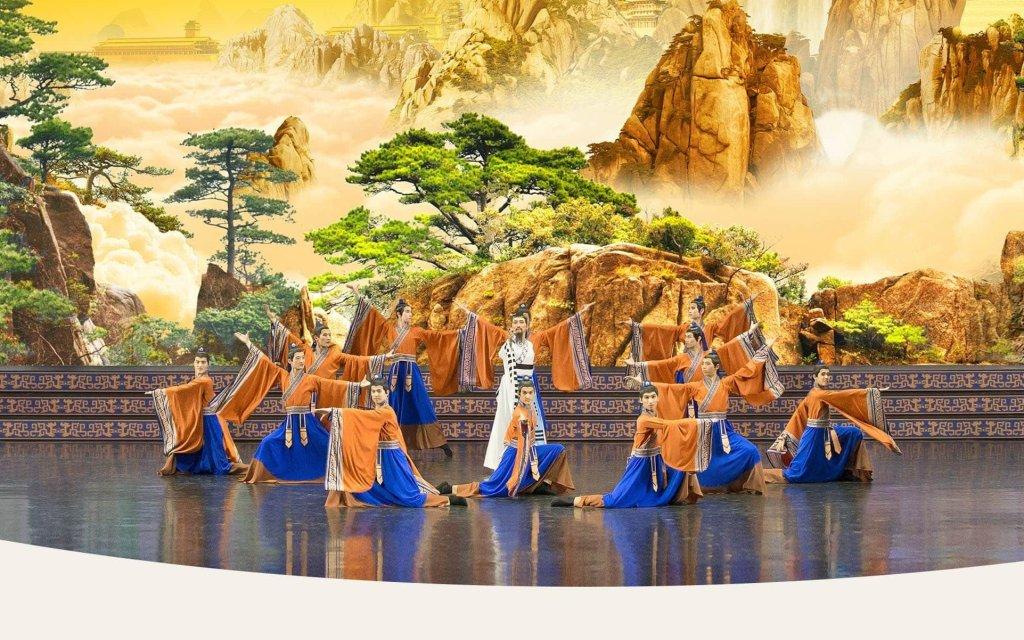Shen Yun Tänzer auf der Bühne