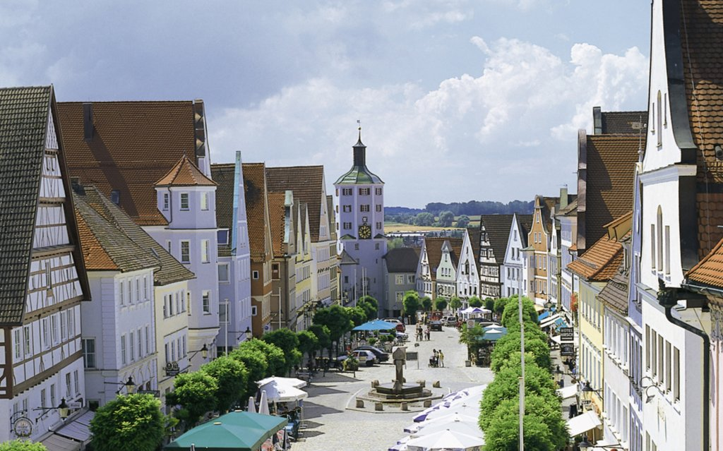Marktplatz Günzburg