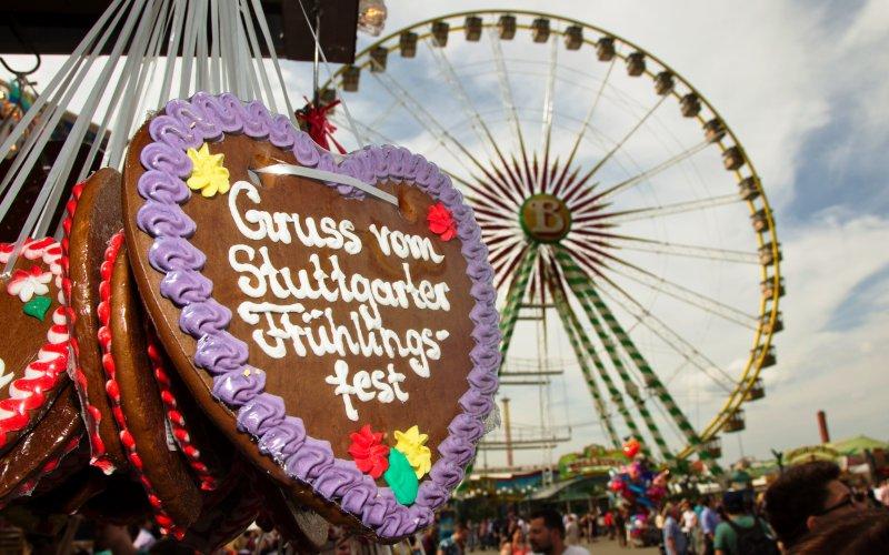 Stuttgarter Frühlingsfest auf dem Cannstatter Wasen