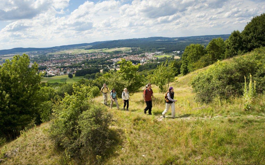 Wandergruppe in der Oberpfalz