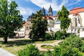 Moellenvogteigarten mit Magdeburger Dom ©Magdeburg Tourist www.AndreasLander