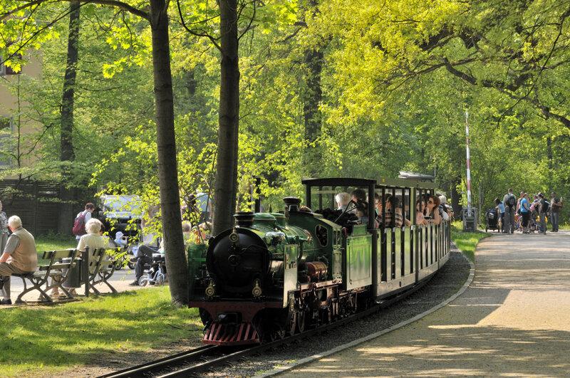 Parkeisenbahn im Dresdner Großen Garten